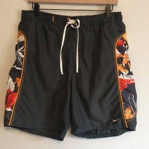 Nike men's swim shorts - medium